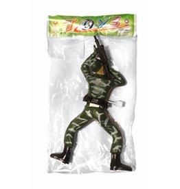 Kruipende soldaat 17cm ass.
