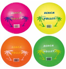Plastic Beach Volleybal neon 185 gr. per 10 in zak