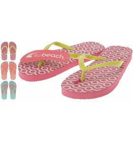Meisjes slipper mt. 28-35 3 ass. design afn. per doos (a36)
