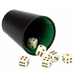 Pokerbeker 9 cm (exclusief dobbelstenen)