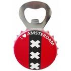 Amsterdam Opener met magneet 9,5x5cm.