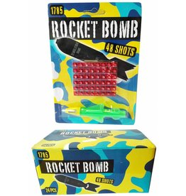 Rocket Bomb 48 shots afname per display (a24)