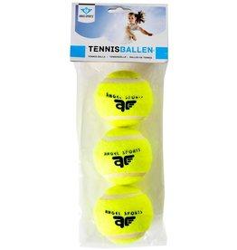 Tennisballen 3 st. in zak