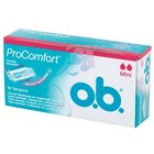 O.B. Tampons Mini Pro Comfort Silk Touch 16st btw6%