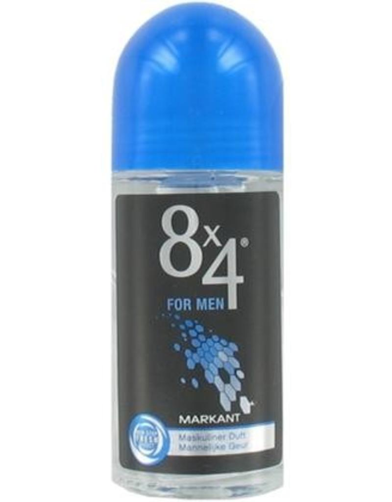 8x4 Deo Roller Men Markant 50ml.