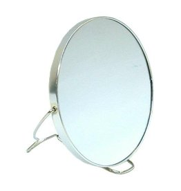 Spiegel Rond 2-zijdig Dia=11,5 cm.