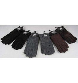 Handschoen heren 2 ass. design 3 ass. kleur