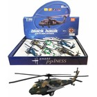 Black Hawk Helicopter met licht & geluid 1:96 per 6 in display