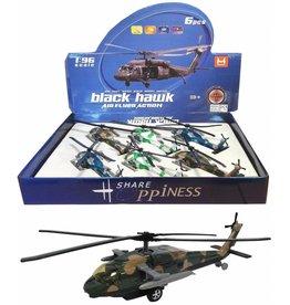 Black Hawk Helicopter met licht & geluid 1:96 per 6 in display