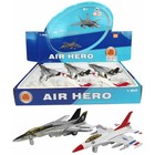 DieCast Air Hero met licht&geluid 1:80 ass. kleur 6 in display