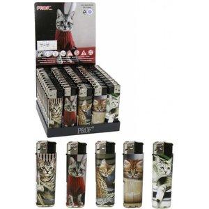 Aansteker Cats per 50 op tray