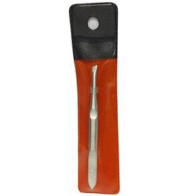 Manicure pincet 9 cm. schuin