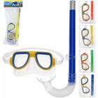 Duikbrilset voor kinderen 4 ass. kleur