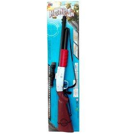 Hunting Gun 66cm. met geluid op blisterkaart