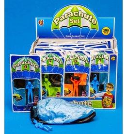 Afschiet parachute 4 ass. kleur