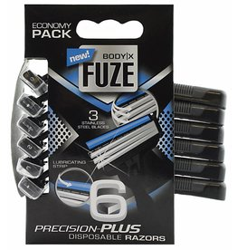 Body-X Fuze Scheermesjes 6st. Triple Blades for Men