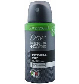 Dove Deospray Men Care Invisible Dry 75ml.Compressed(=150ml)
