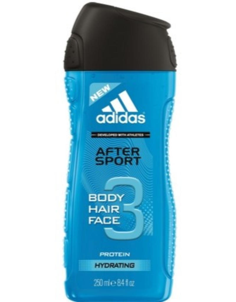 Adidas After Sport Body, Hair & Face Gel 3in1 250ml