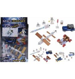 Space Speelset DieCast 10delig 2 assorti