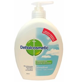 Dettol Wasgel Sensitive 500ml. zeeppomp