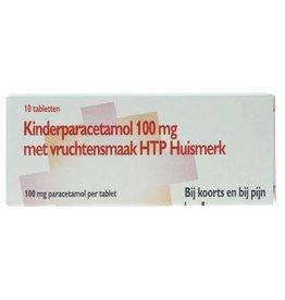 HMK Paracetamol Kind 100mg 10st met vruchtensmaak btw6%