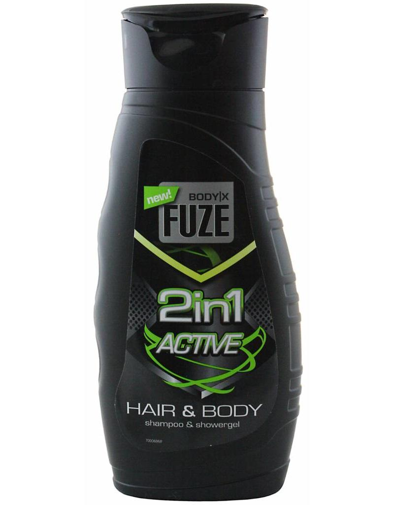 Body-X Fuze Douche Hair & Body Active 300ml