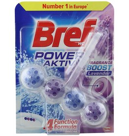 Bref Power Aktiv WC Block Lavender 50gr.