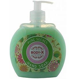 Body-X Handzeep Pompje Pure Secret 500ml.