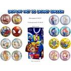 Display met 30 Disneyballen