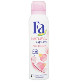 Fa Deospray Women Natural & Pure Rose Blossom 150ml