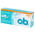 O.B. Tampons Super Pro Comfort Silk Touch 16st btw6%