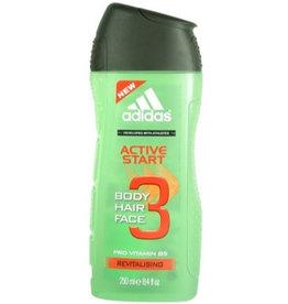 Adidas Active Start Body, Hair & Face Gel 3in1 250ml