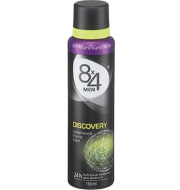 8x4 Spray 150ml. Men Discovery