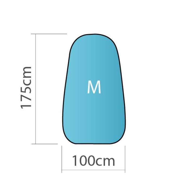 Pop up banner, verticaal, M - 100x170cm