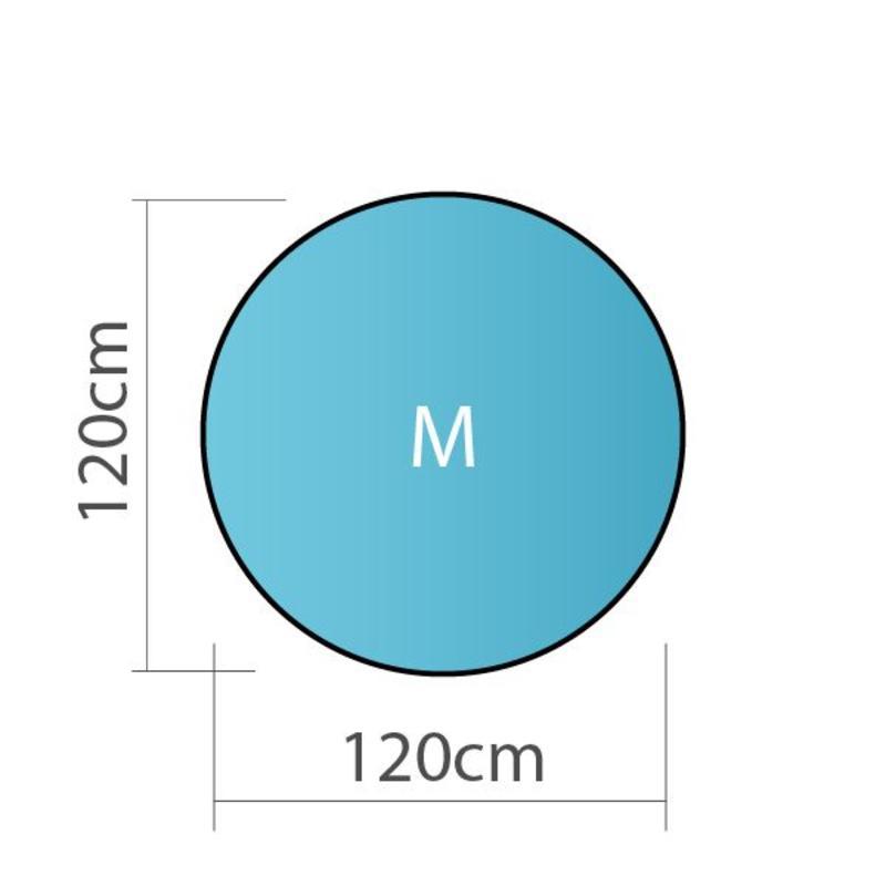 Pop up banner, rond, M - 120x120cm