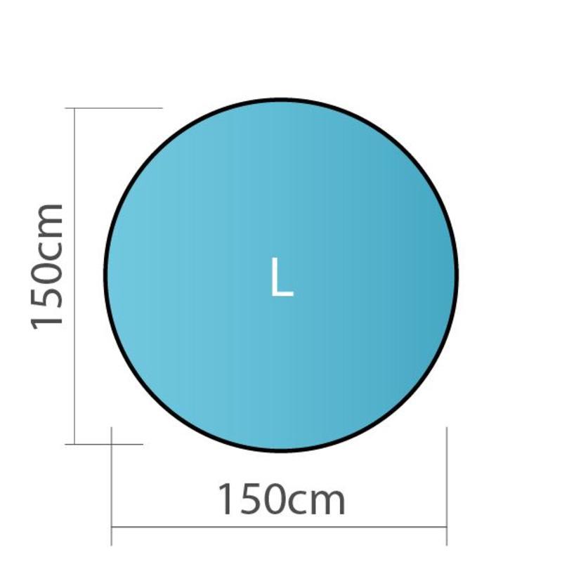 Pop up banner, rond, L - 150x150cm