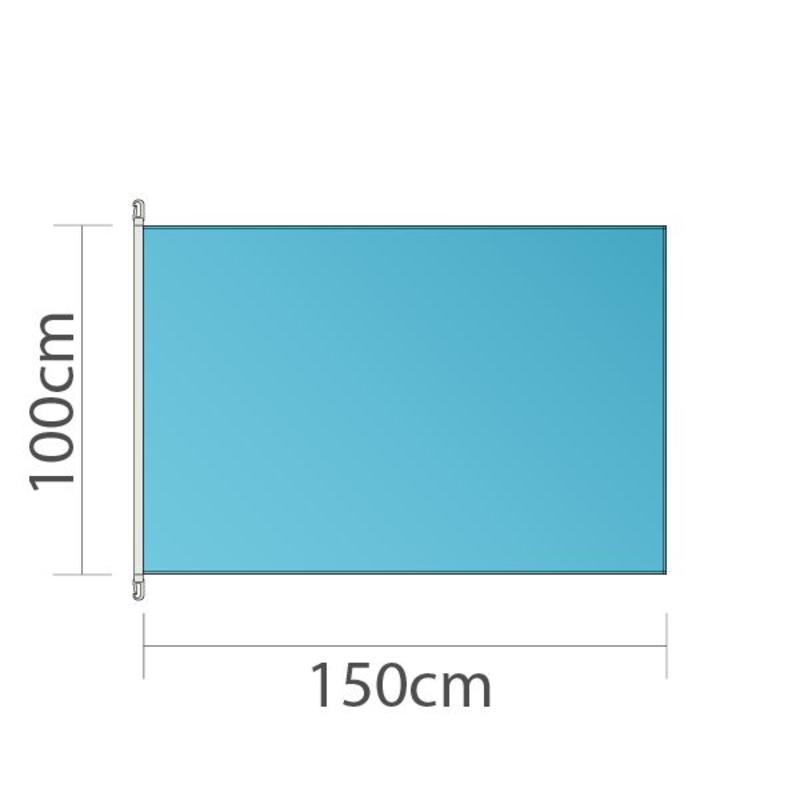 Mastvlag, full colour bedrukt, 150x100cm