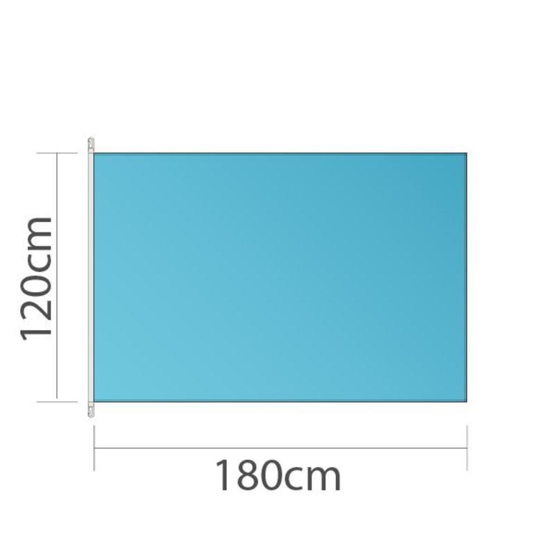 Mastvlag, full colour bedrukt, 180x120cm