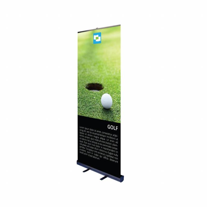Roll up banner black 85