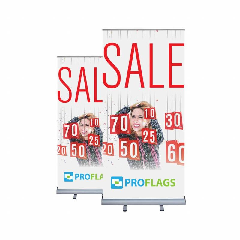 Roll up banner double sided 100