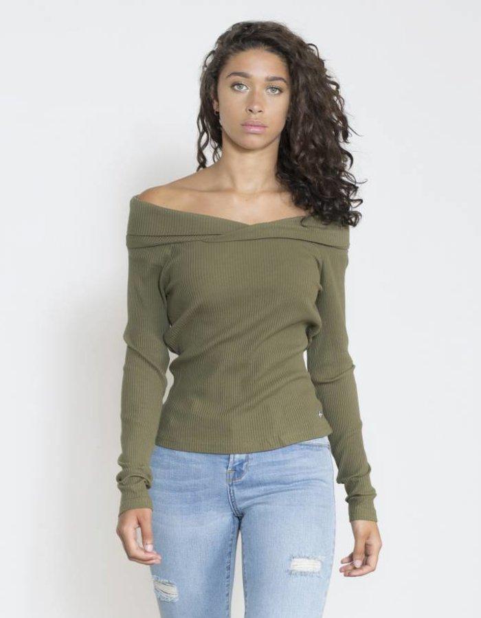 Off - shoulder top