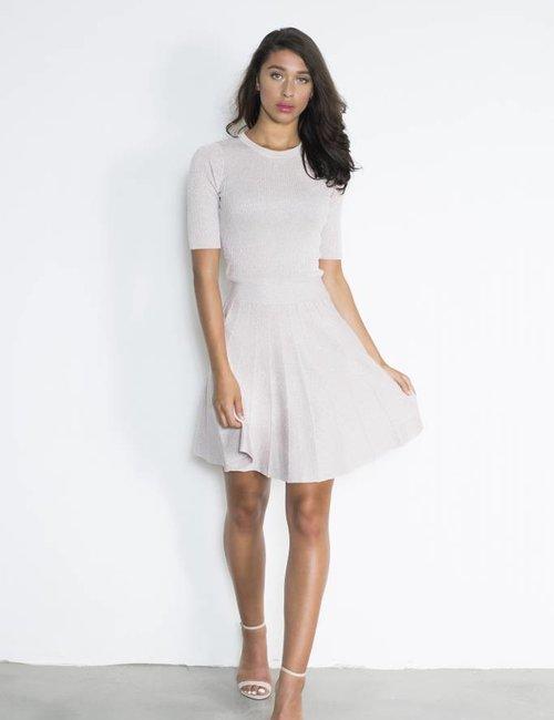 Lurex jurk
