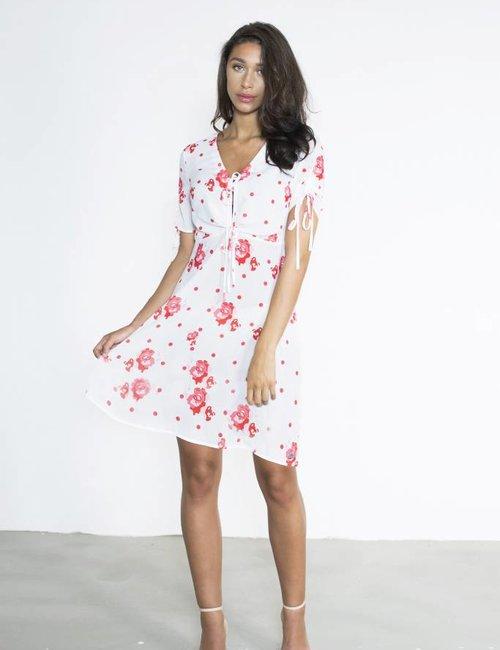 Jacky Luxury Jurk met floral print