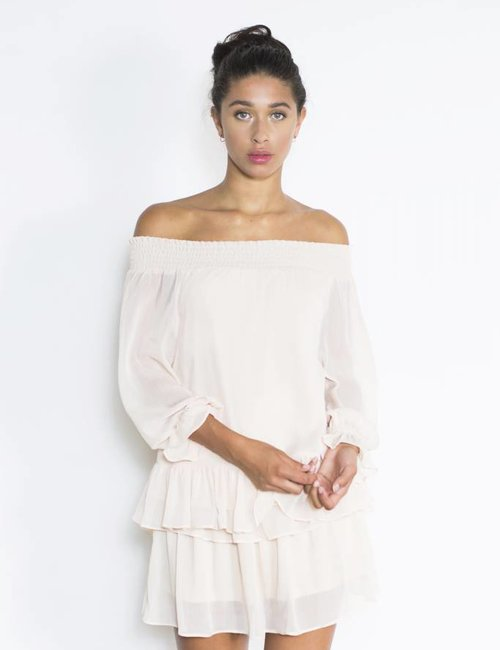 Jacky Luxury Off-shoulder top ruffels