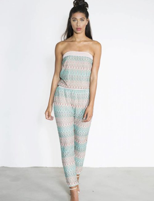 Jacky Luxury Jumpsuit knit print