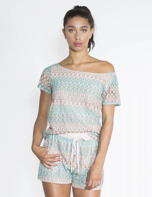 Jacky Luxury T-shirt knit print