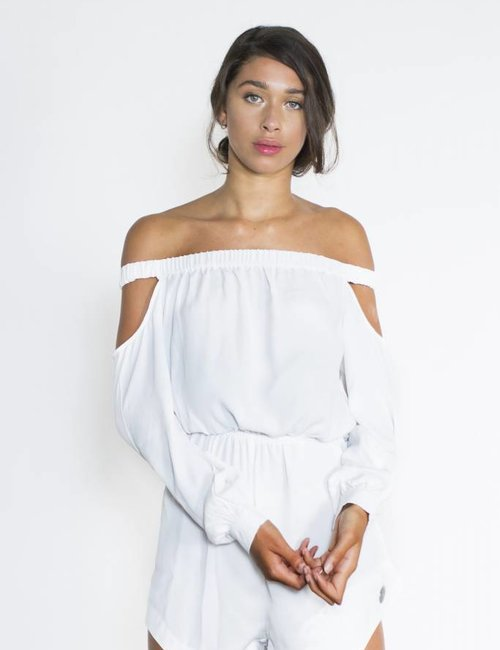 Jacky Luxury Off-shoulder jumpsuit