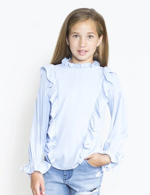 Jacky Luxury Blouse met ruffles