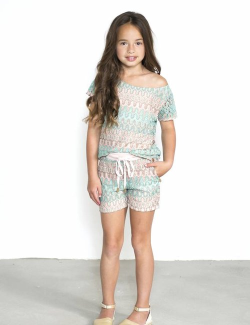 Jacky Luxury Short knit print