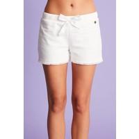 Comfy shorts met striksluiting